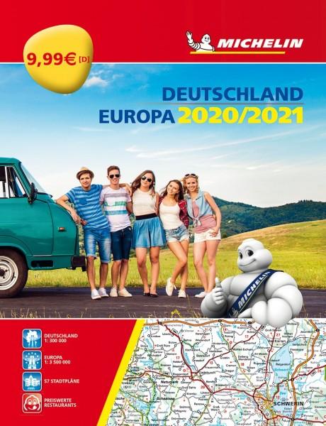 Michelin Atlas D/EU 2020/2021